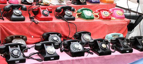 cool old fashion phones