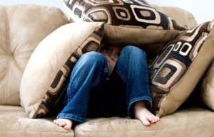 couch hiding