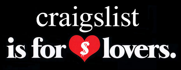 craigslist is for money lovers