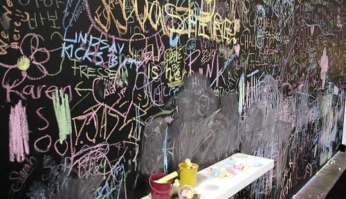 crazy chalkboard