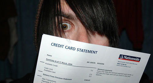 crazy credit card statement
