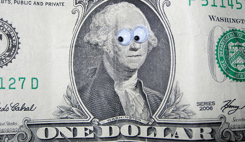 crazy eyes dollar