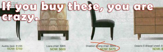crazy furniture prices