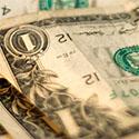 crinkly dollars