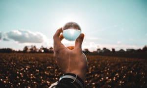 crystal ball sky