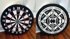 dart board sold