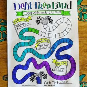 debt free land chart