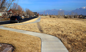 desire path mountain range