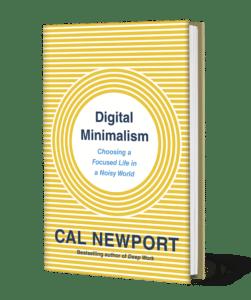 digital minimalism book - cal newport