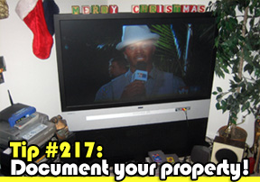 document your property!