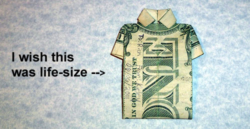 dollar art shirt