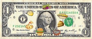 dollar meal budget