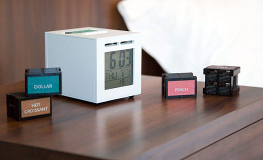 dollar smell alarm clock