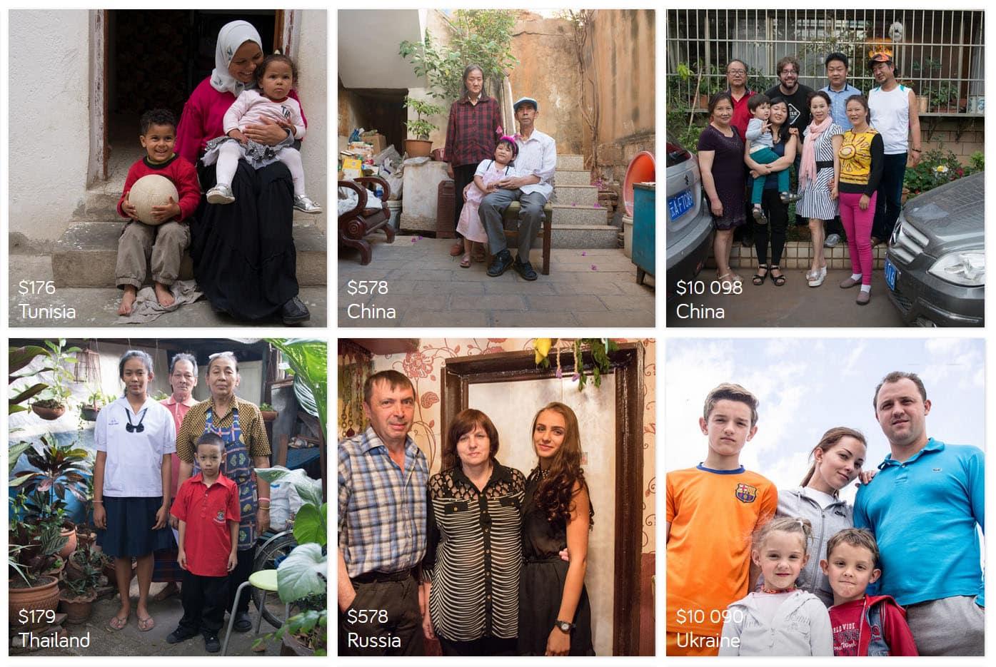 dollar street families