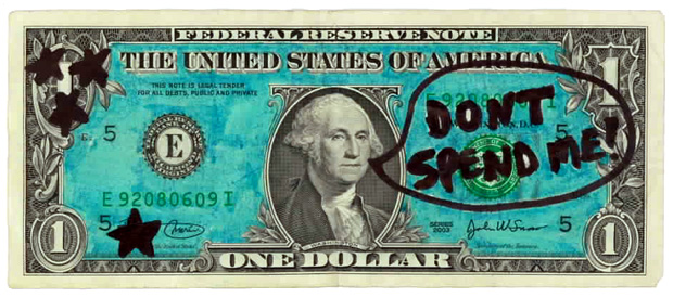 George Washington Dollar Art