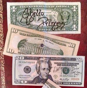 doodled bills fun