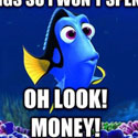 dory money gif