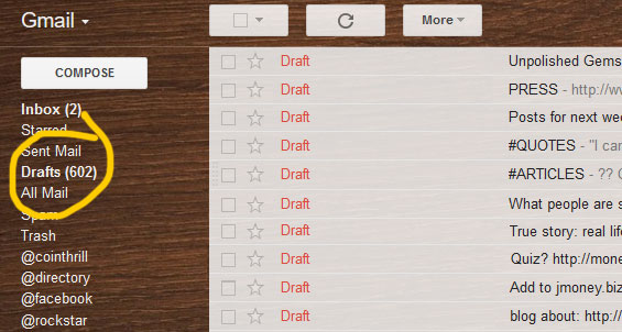 draft emails