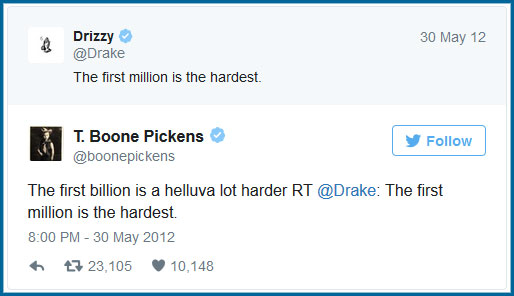 drake t boone pickens tweet