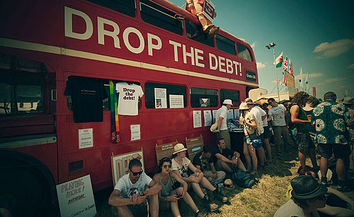 drop the debt bus