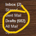 602 email drafts