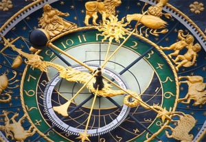 fancy astronomical clock