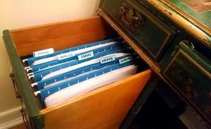 filing system desk