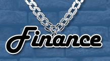 Finance bling.