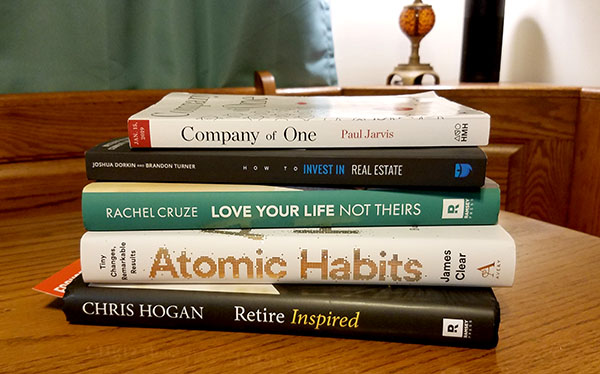 new financial and productivity books