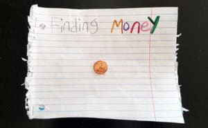 finding money story