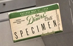 first credit card - diner's club