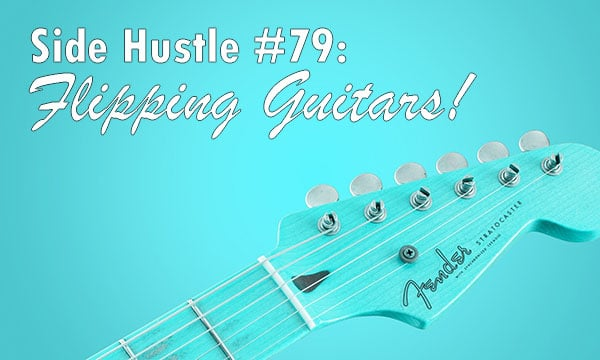 flipping guitars