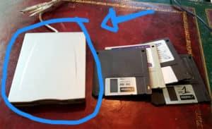 floppy disk reader