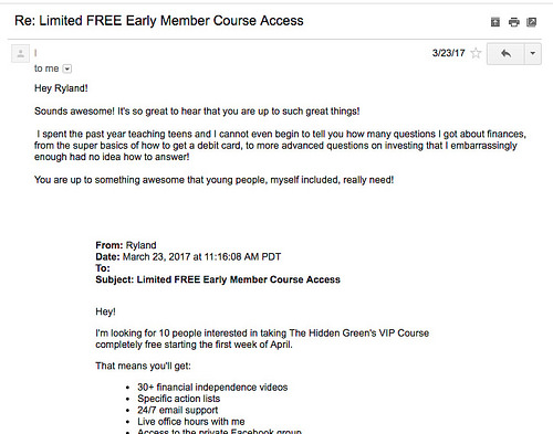 free early member access
