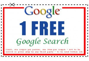 free google search coupon