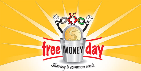 free money day logo