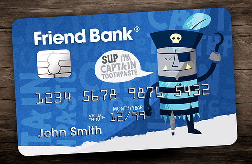 Friend Bank credit card