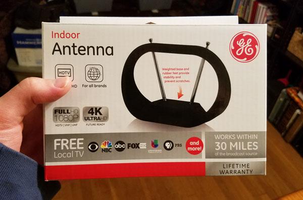 ge indoor antenna free tv