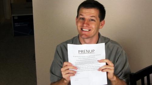 get a prenup