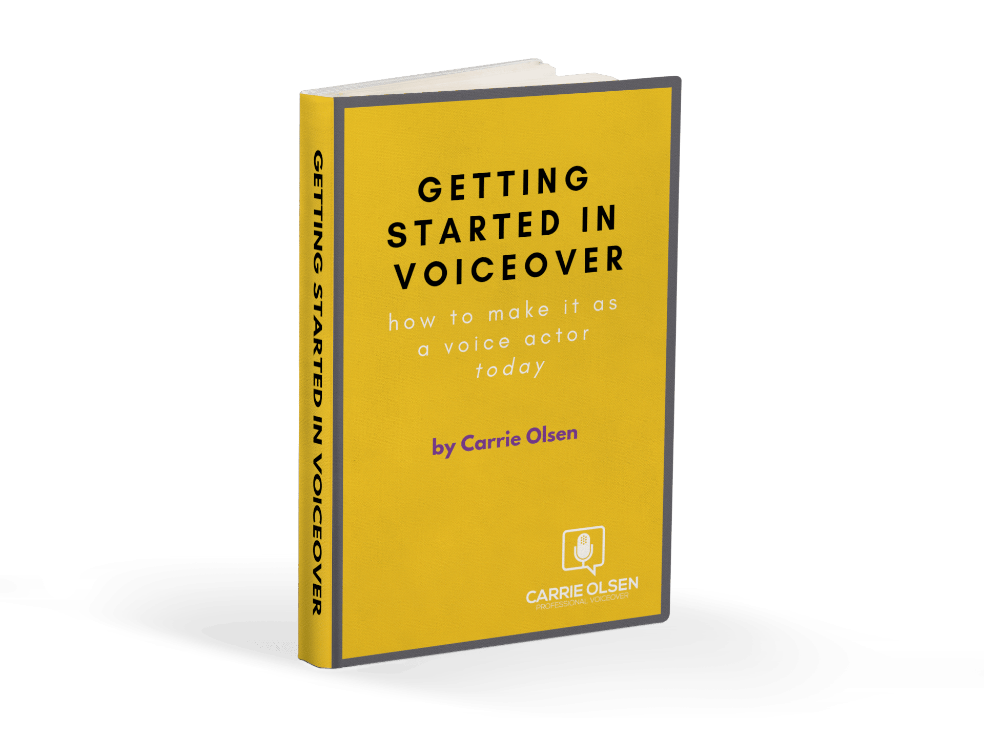 getting started voiceover work book