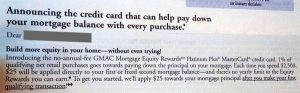 gmac mortgage credit card