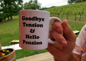 goodbye tension hello pension