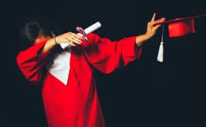 graduation dab