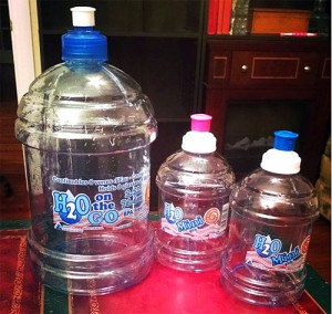 h20 on the go water bottles