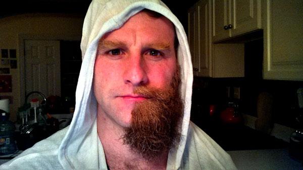 half beard - J. Money