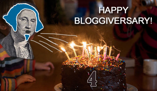 happy bloggiversary