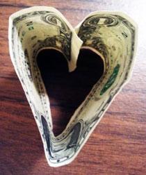 heart dollar
