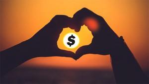 heart hands money