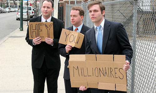 hey you millionaires