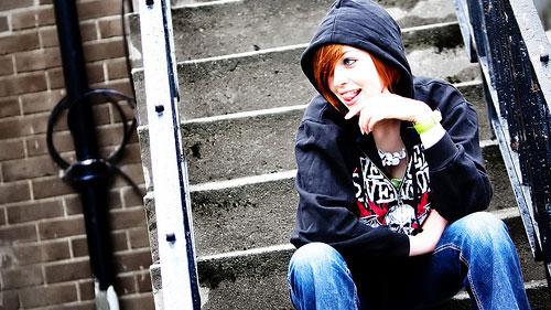 hoodie chick
